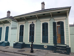 Typical French Quarter house
