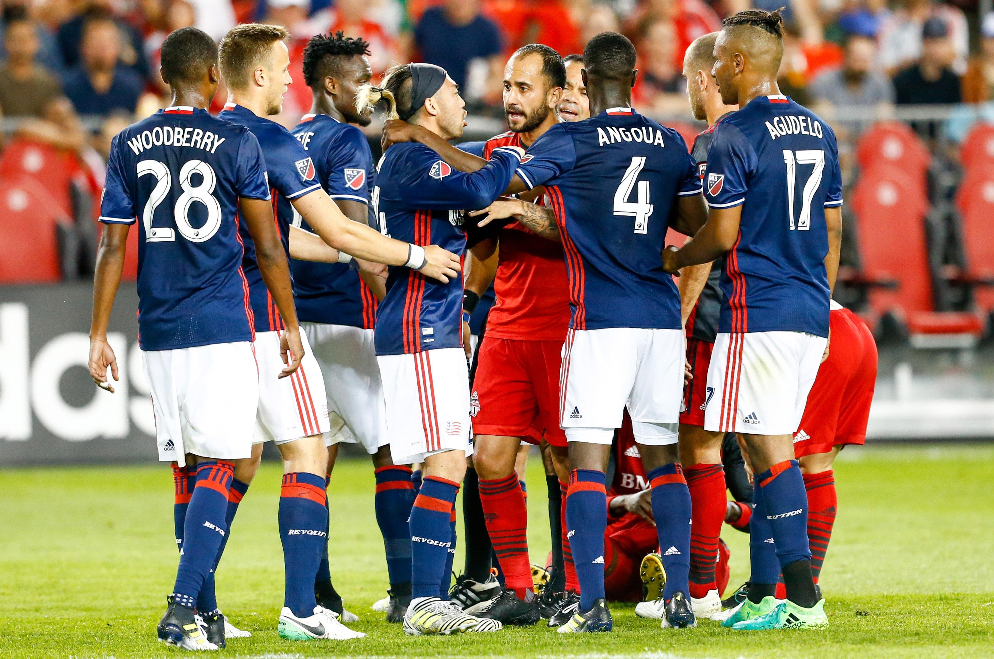 2017 MLS Regular Season: Match 17 - Revs (0) at Toronto FC (2)