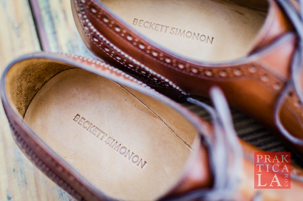 beckett simonon durant brogues dress shoe review