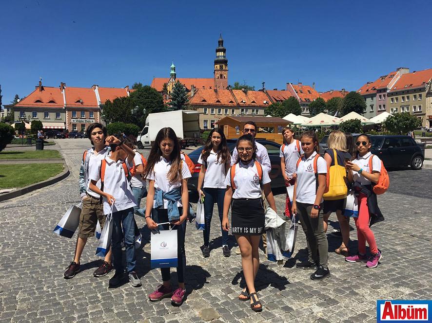 Öhep Ortaokulu Polonya'da2