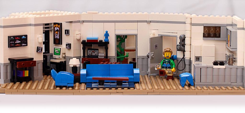 Seinfeld's Apartment - Frostbricks