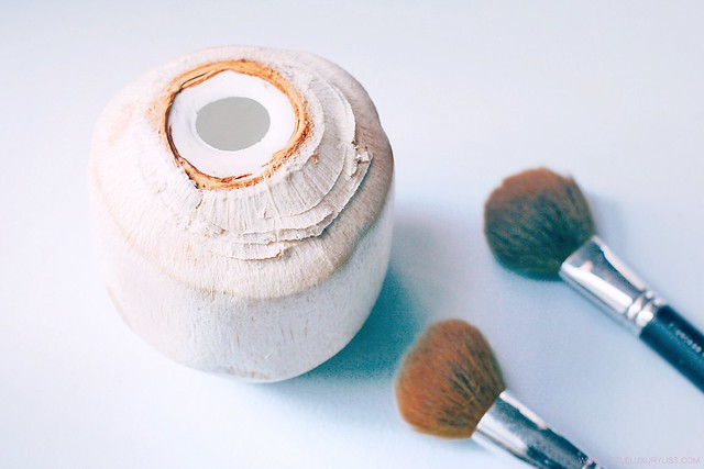 5 unexpected ways to use coconut oil coconut and brushes