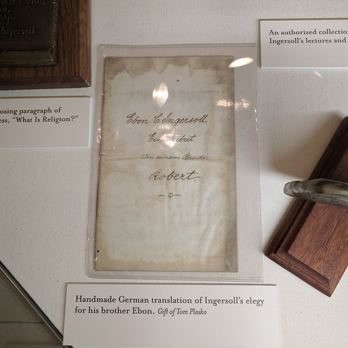 Handmade German translation of Ingersoll's elegy for this brother Ebon | by marcn