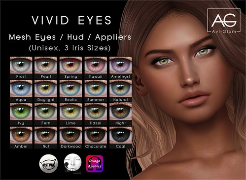 Vivid Eyes (Shiny Shabby) | by Avi-Glam