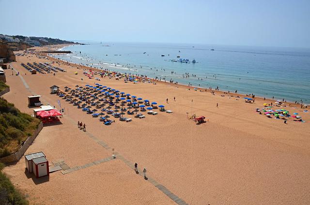 Beach, Albufeira, Algarve