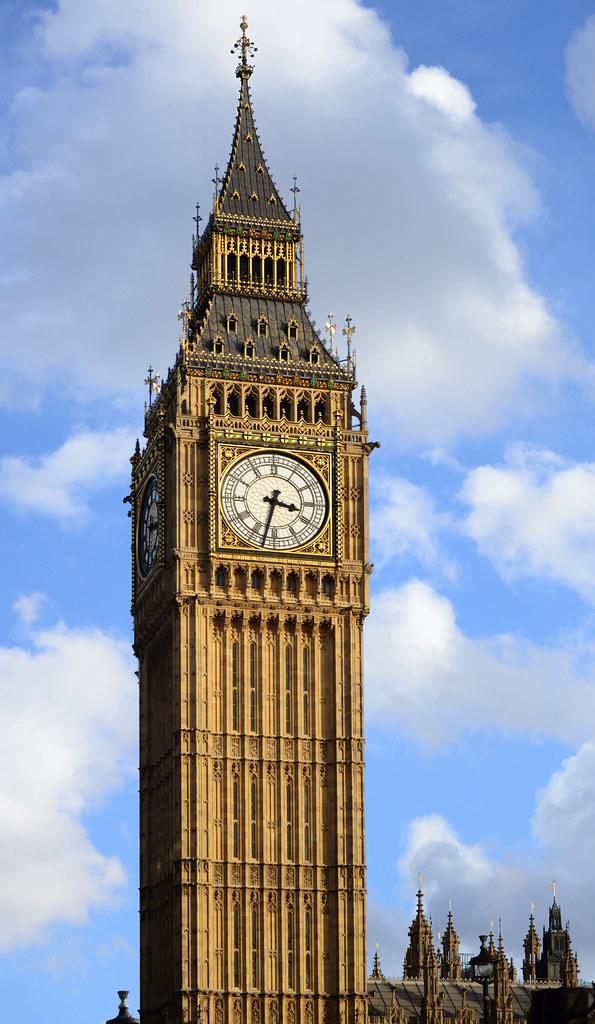 El bigben, uno de los iconos e imprescindibles que ver en Londres