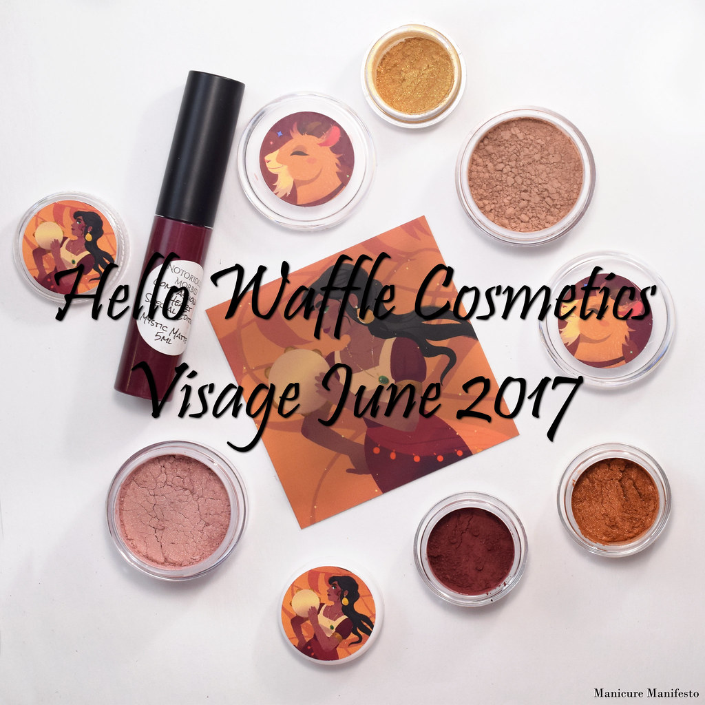 Hello Waffle Visage June 2017 swatch review