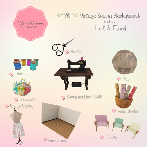 {YD}Vintage Sewing Background | by *Your Dreams*