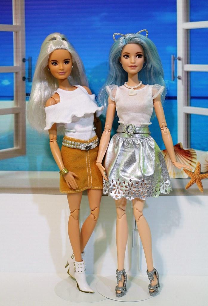 Platinum Pop And Blue Beauty Fashionista Become Made To Mo