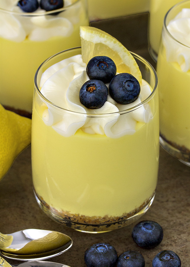 receta postre limón