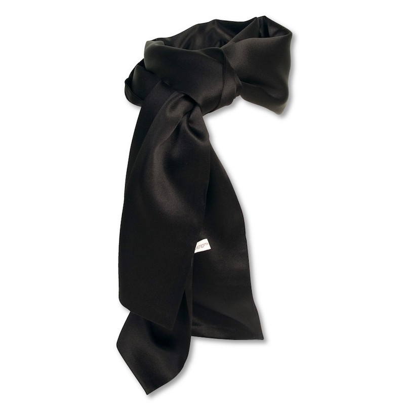 Competition Silk Scarf (Black)