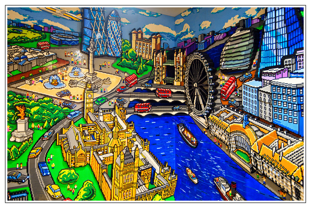 Lego Londonwall Mural Plaghunter Protects This Beau Flickr