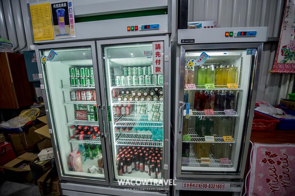 小琉球美食-筑安心燒物BBQ啤酒+氣泡飲料區
