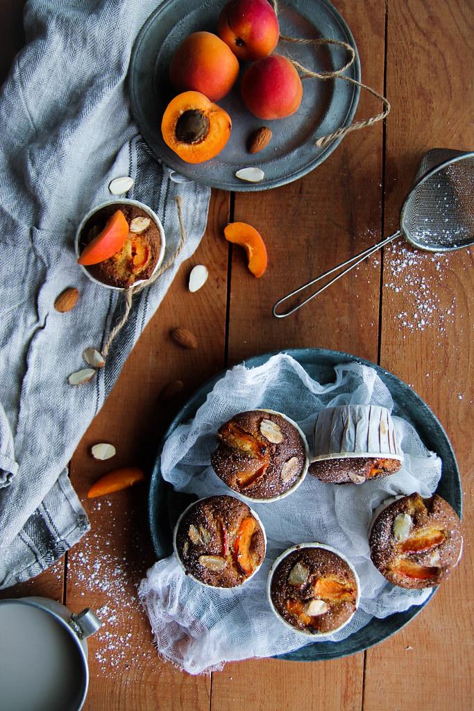 Muffins abricot sans gluten