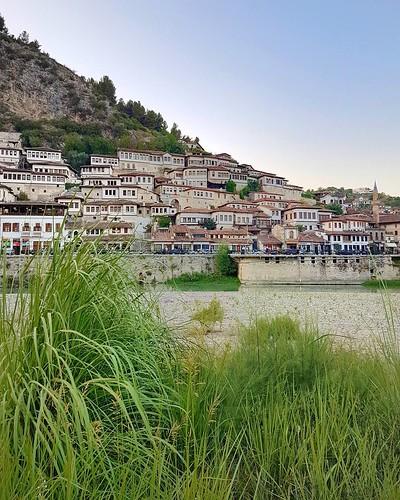 Centro historico de Berat na Albania