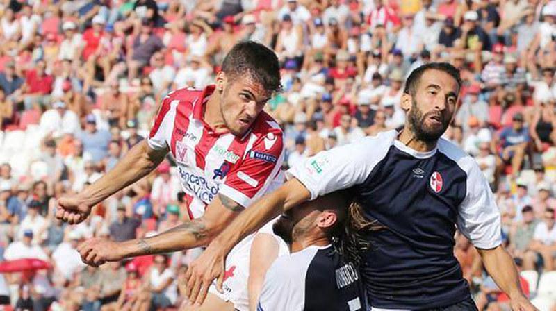 Luka Bogdan con la maglia del Vicenza