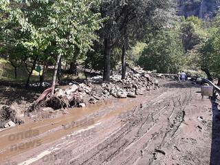 Frana la montagna a San Rufo. Il giorno dopo il fango, i detriti e la rabbia dei cittadini