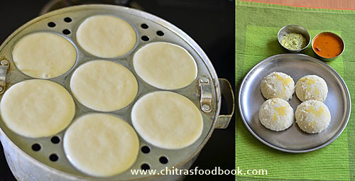 Raw rice idli | Pacharisi idli recipe