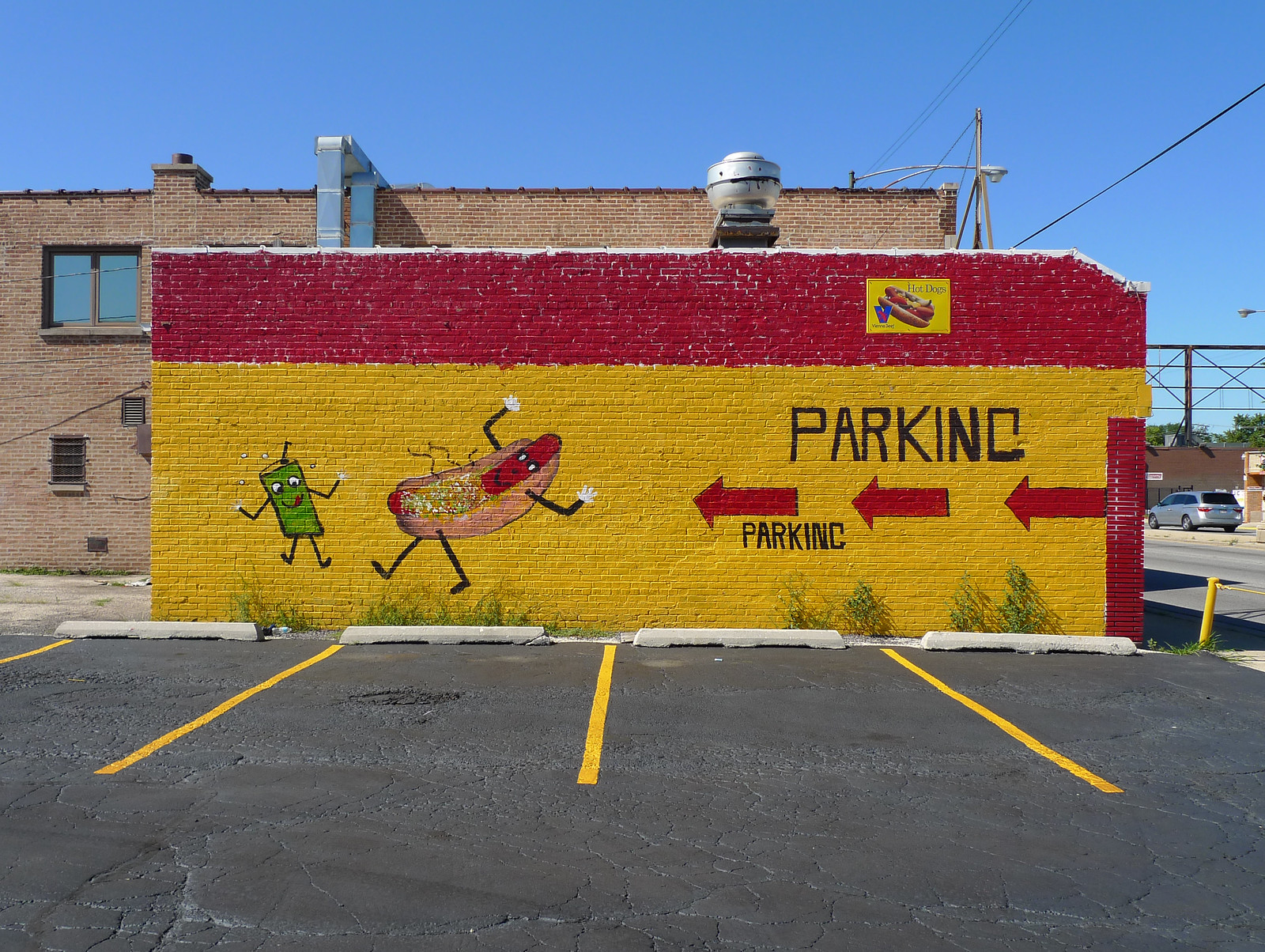 former home of dancing soda and hotdog | by find myself a city (1001 Afternoons in Chicago)