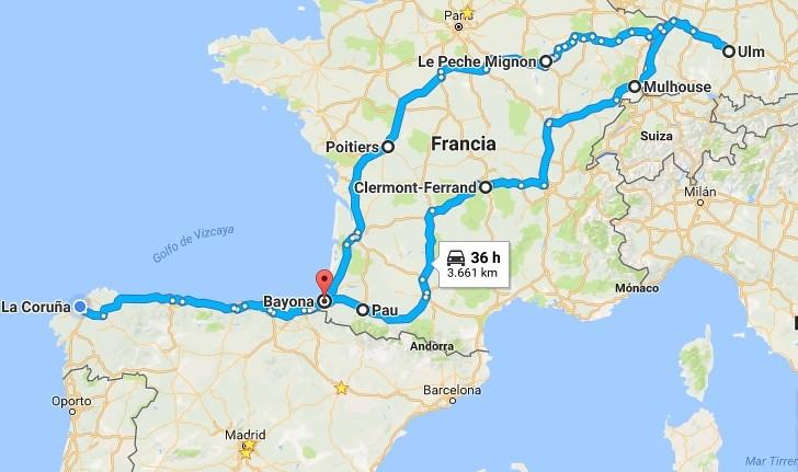 Road-Trip 2016 Francia y Alemania