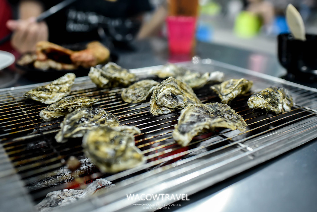 小琉美食-筑安心燒物BBQ烤蚵仔