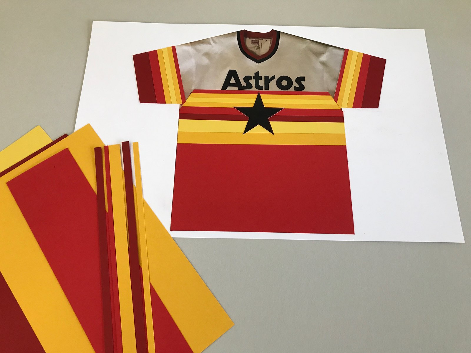 timeless design a1c69 a68cf The history of Houston's iconic rainbow uniforms is a story ...