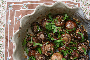 garlic mushrooms 4 | by crumblycookie