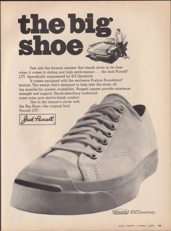 66fb023a029d4c an old advert of the shoes from 1970.