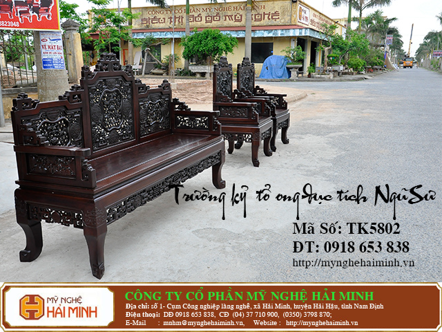 TK5802c  Truong ky to ong duc tich Ngu Su  do go mynghehaiminh