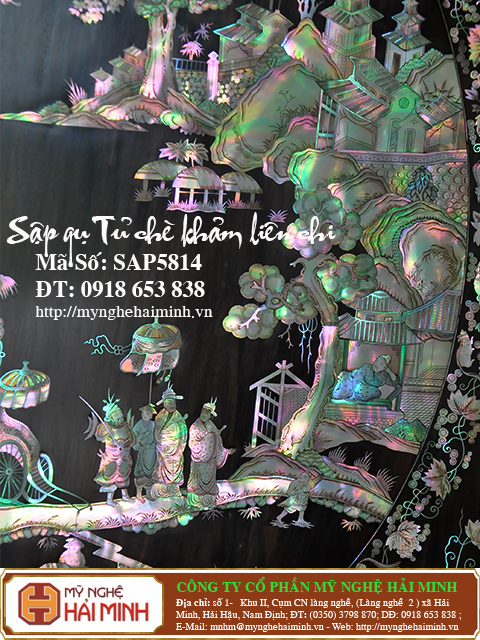 SAP5814m  Sap gu Tu che Kham Lien Chi  do go mynghehaiminh