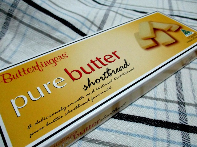 Butterfingers pure butter shortbread