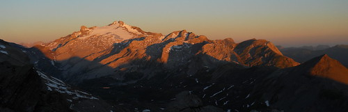 View from the Wildstruble hut of the Wildhorn