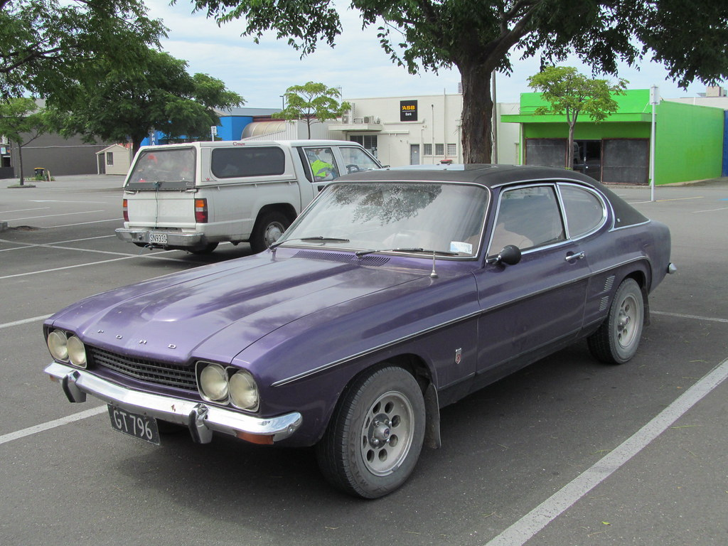 1974 Ford Capri 3000 Gxl Automatic A Rare And Grunty Class Flickr