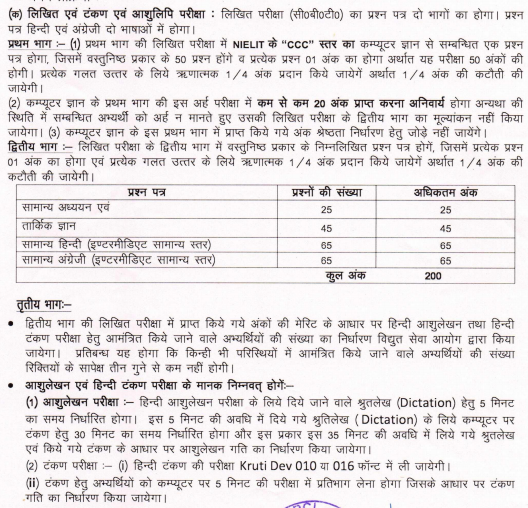 UPPCL Office Assistant Admit Card/Hall Ticket