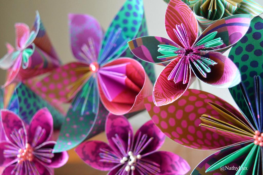 Bouquet Fleur Origami Nathy Du Luxembourg Flickr