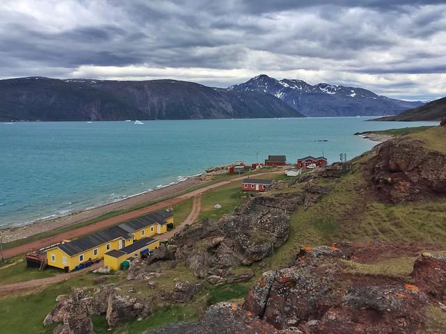 Qassiarstuk, la base de Tierras Polares en el sur de Groenlandia