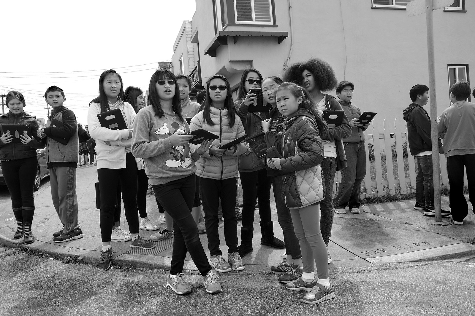 Sixth Graders from Giannini Middle School, Outer Sunset District - San Francisco, CA | by Rex Mandel