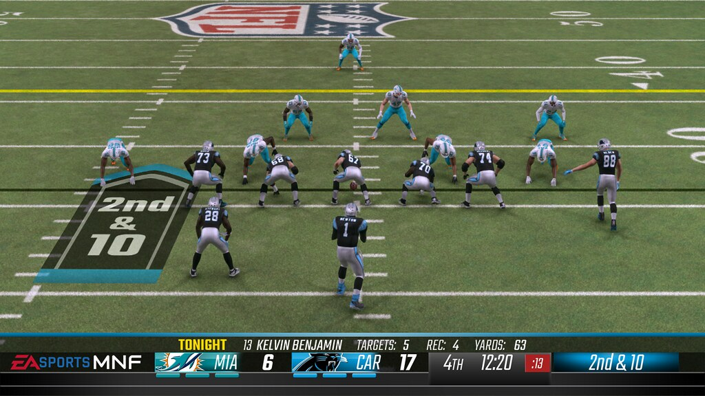 Why Can T Madden Add Realistic Scoreboards Like This Even Nba Live Has The Espn Scoreboard Nfl Doesn T Want It Madden