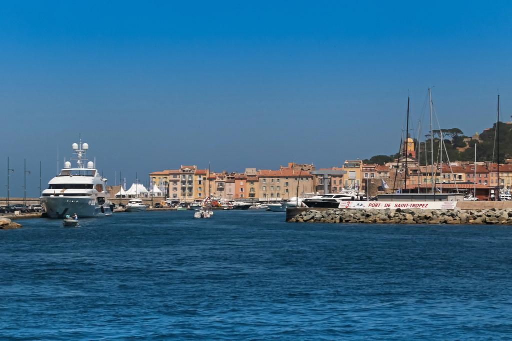 Port De Saint Tropez Saint Tropez France Port De Saint Flickr