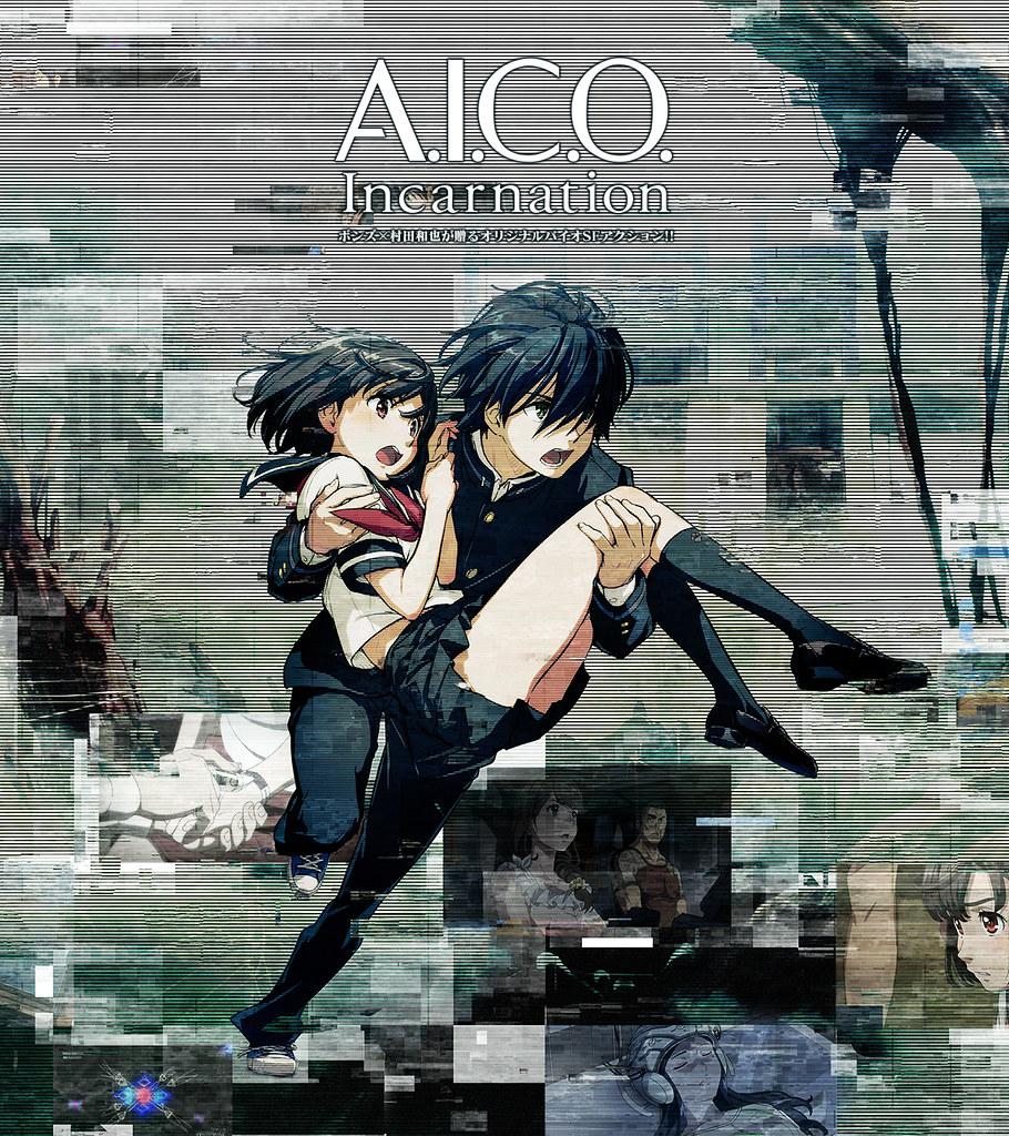 170803 -「Netflix & 村田和也」原創美少女科幻動畫《A.I.C.O. -Incarnation-》將在2018年春天全球上架!