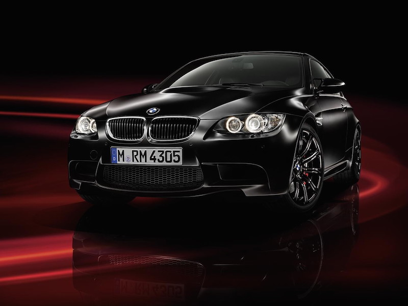 2011 BMW M3 E92 Frozen Black Special Edition