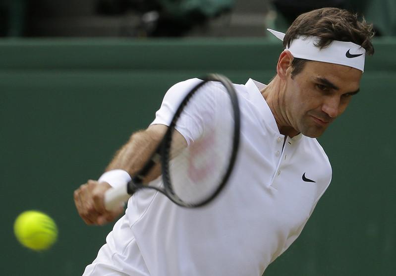 Roger Federer不擔心溫網的焦點會被世界盃影響。(達志影像資料照)