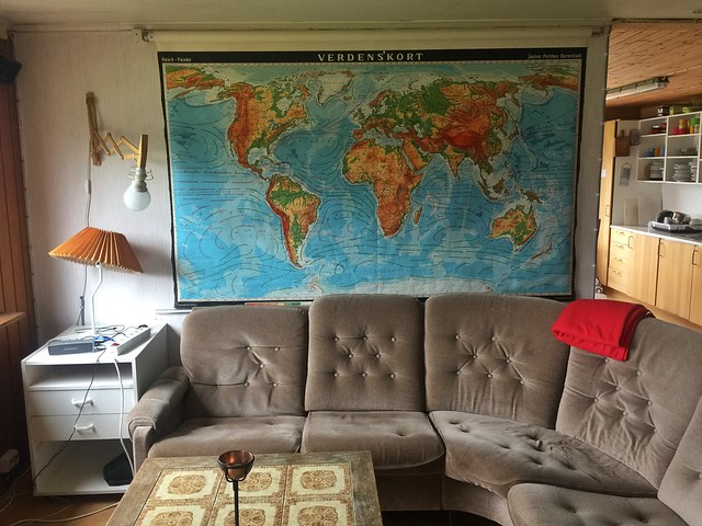 Salón del Tasiusaq Hostel (Sur de Groenlandia)