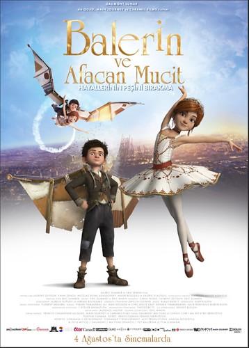 Balerin ve Afacan Mucit - Ballerina (2017)