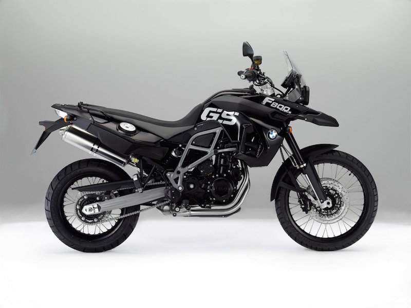 2012 BMW F800GS Triple Black Special Edition