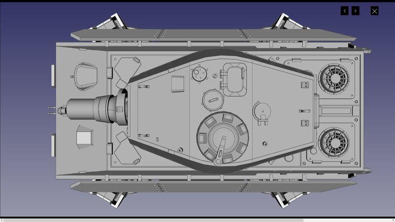 UA72107 3D 04 | par Cyber-Mecha