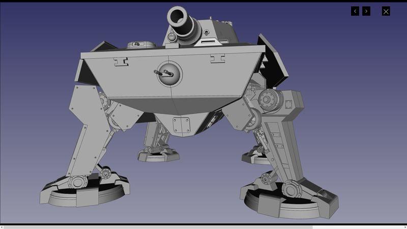 UA72107 3D 02 | par Cyber-Mecha