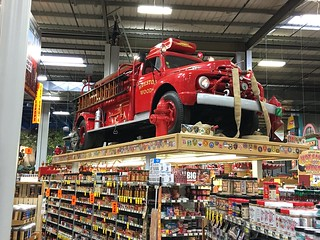 Jungle Jim's Firetruck Hotsauce display | by DanCentury