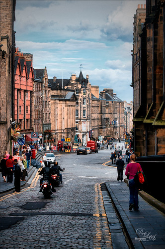 Image of an Edinburgh Street