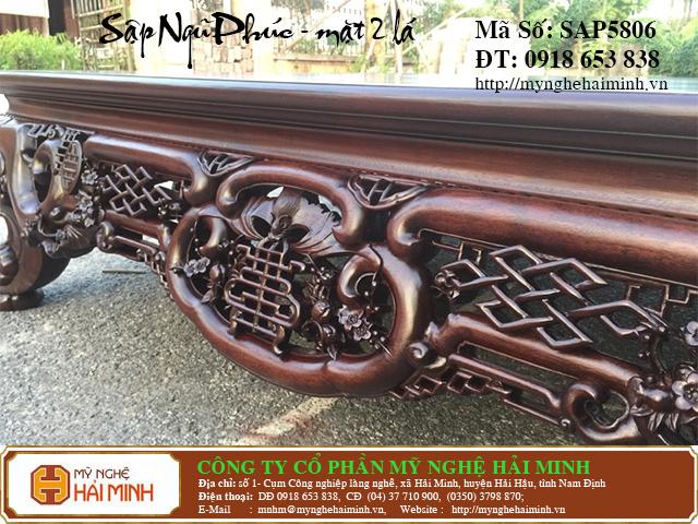 SAP5806c  Sap gu Ngu Phuc Mat 2  do go mynghehaiminh